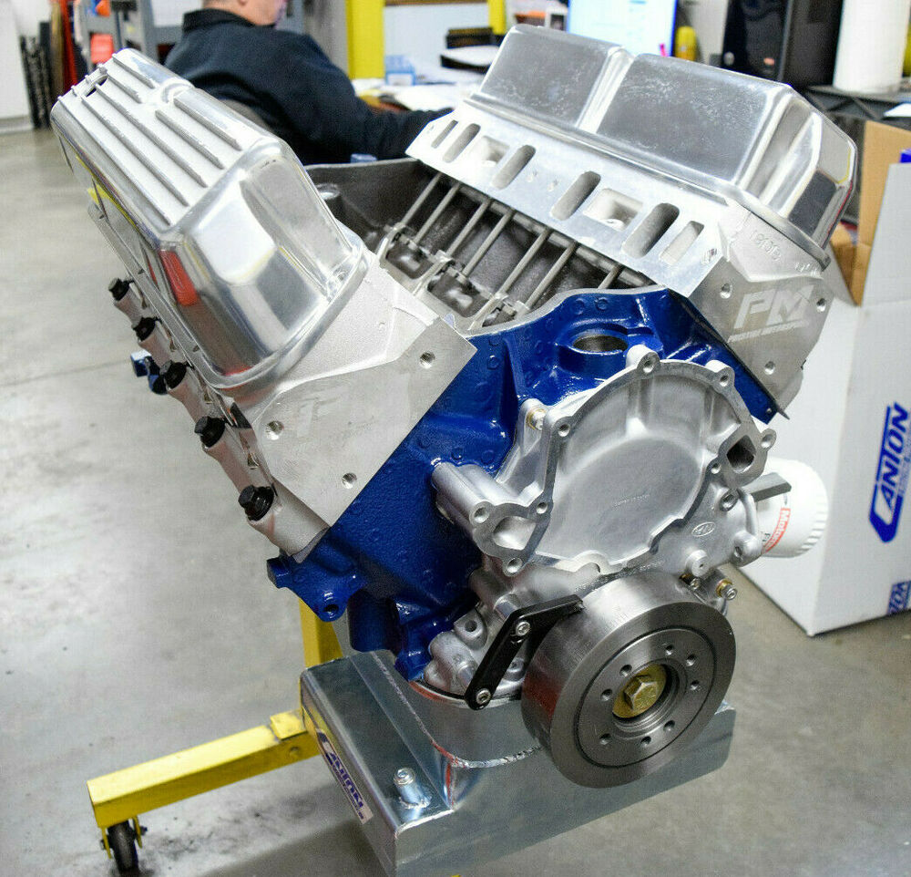 550Hp Small Block Ford Custom 427 Stroker Engine Complete ...