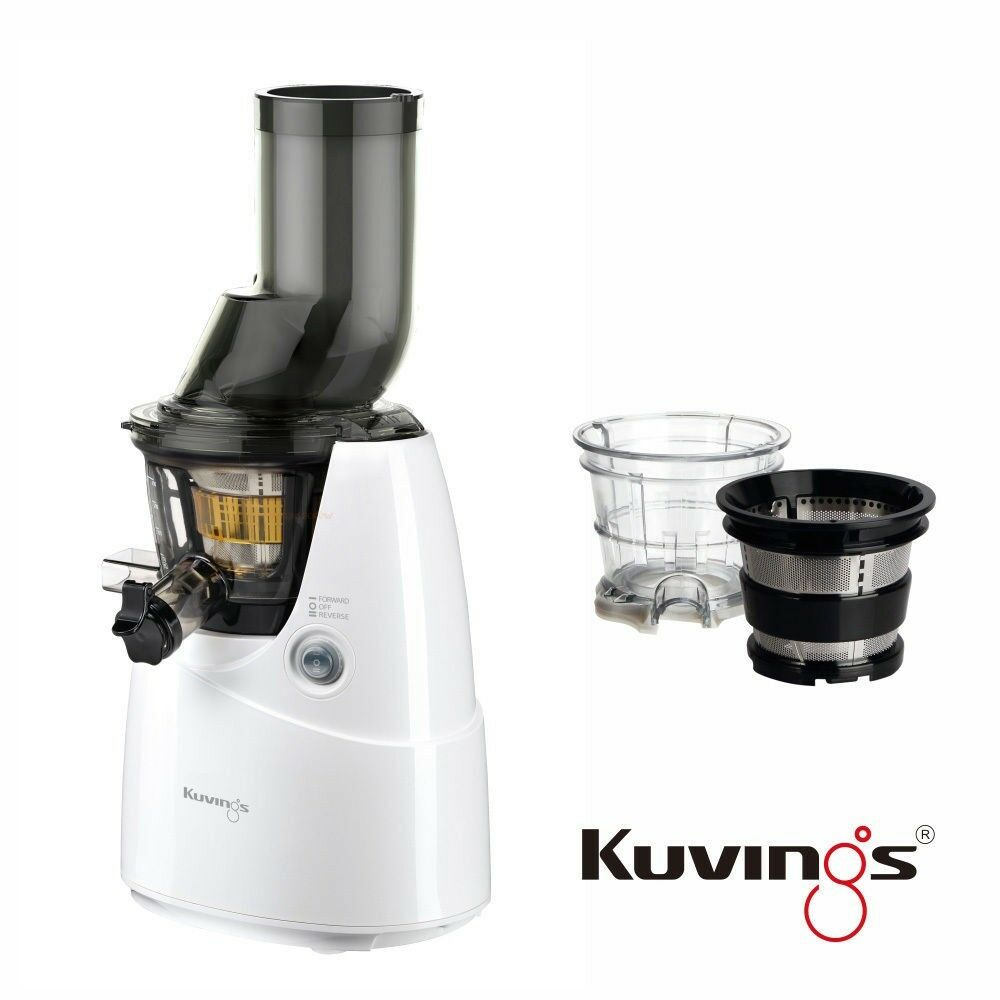 Kuvings Whole Slow Juicer B6000W Wei? inkl. Eiscreme & Smoothies Set 60 U/min eBay