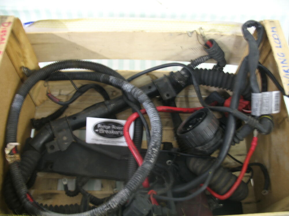 range rover p38 engine wiring loom harness 2 5 diesel manual ebay