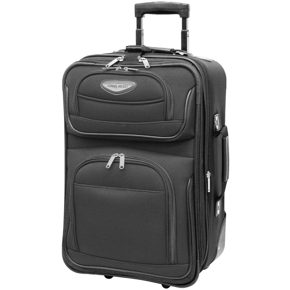 "Travel Select Gray Amsterdam Carry-on 21"" Rolling Luggage ..."
