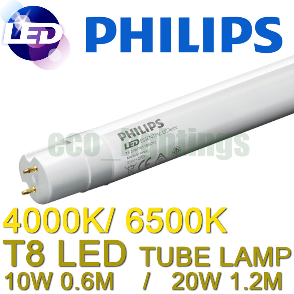 led philips core pro t8 fluorescent tube lamp 10w or 18w. Black Bedroom Furniture Sets. Home Design Ideas