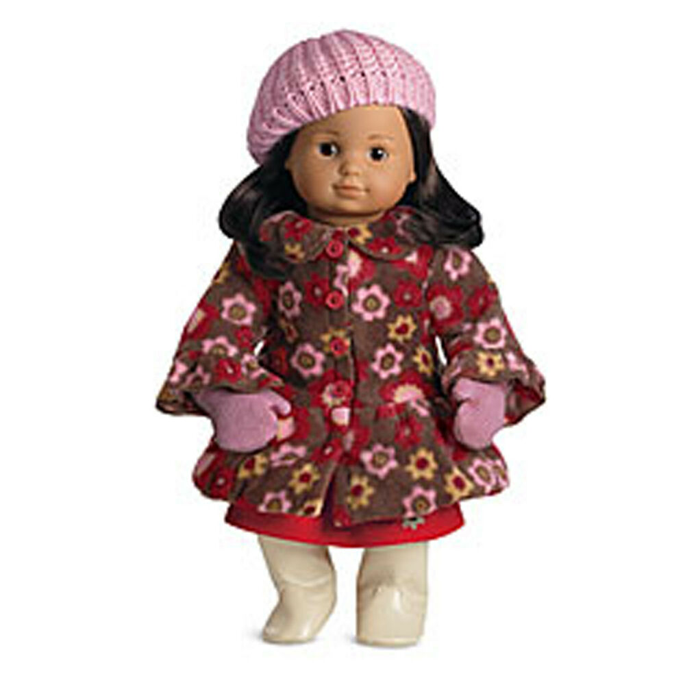 American Girl Bt Bitty Twin Fleece Coat Amp Mittens For 15