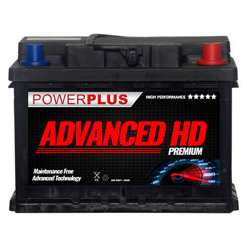 075 type 12 volt digger advanced premium car battery heavy duty 60ah 560cca ebay. Black Bedroom Furniture Sets. Home Design Ideas
