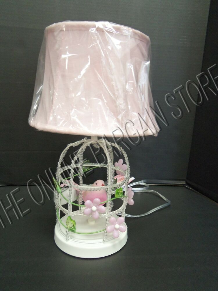 Pottery Barn Kids Pbk Birdcage Complete Lamp Bedside Table
