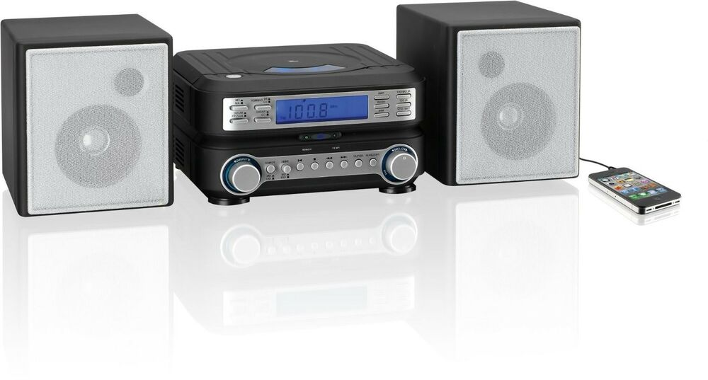 home stereo system speaker compact mp3 radio cd player. Black Bedroom Furniture Sets. Home Design Ideas