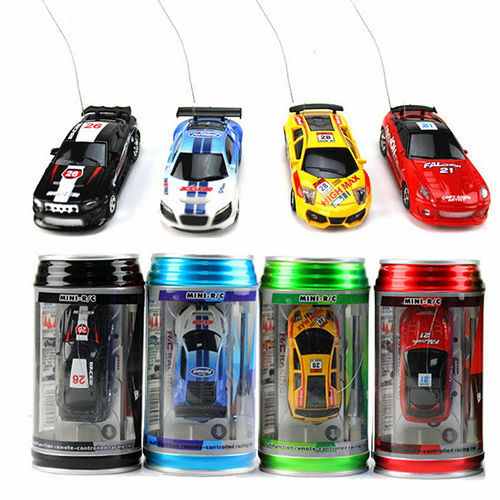 us coke can mini rc radio remote control speed micro racing car vehicle toy gift ebay. Black Bedroom Furniture Sets. Home Design Ideas