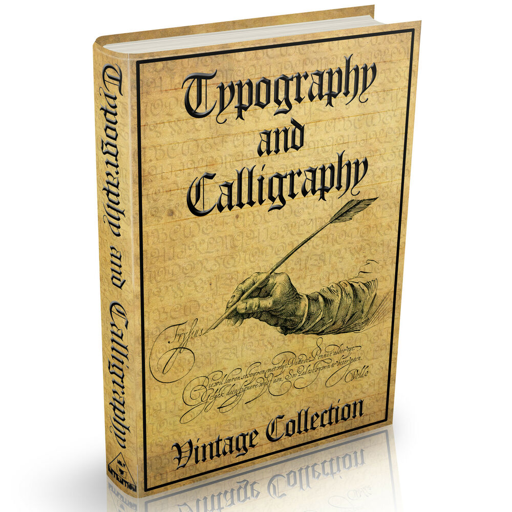 Calligraphy penmanship and typography books massive 108 Calligraphy books free
