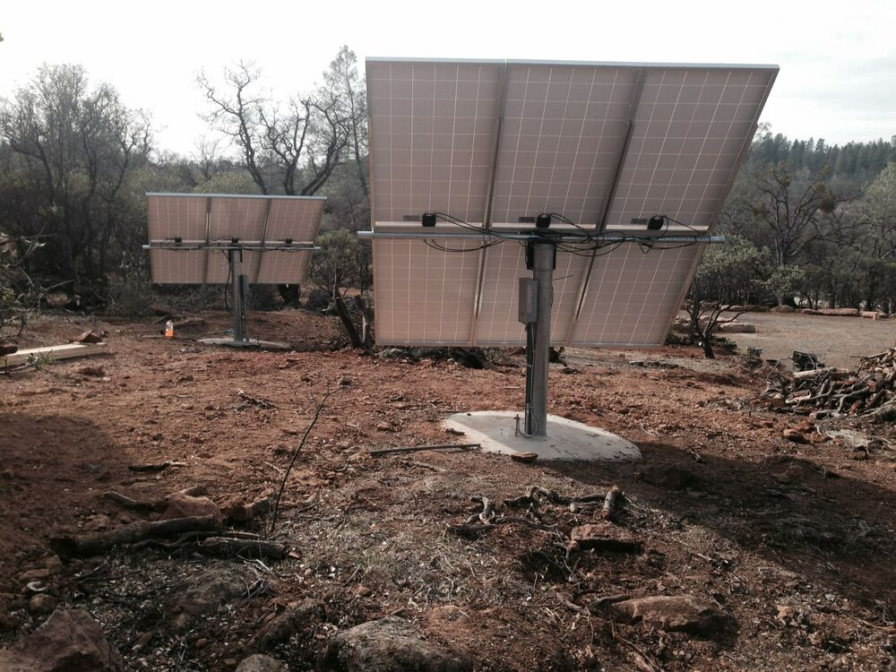 Solar Panel Pole Mount Holds 6 Large Panels Fits A 6 Quot Pipe