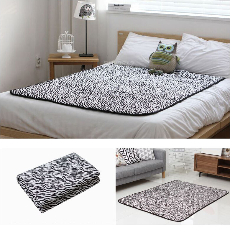 Hanil Electric Blanket Bed Pad Microfiber Heating Mattress