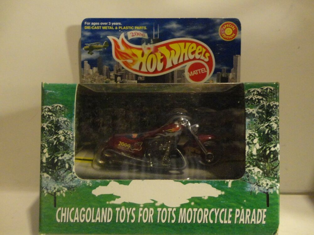 Motorcycle Toys For Tots : Hot wheels ltd edition chicagoland red toys for tots