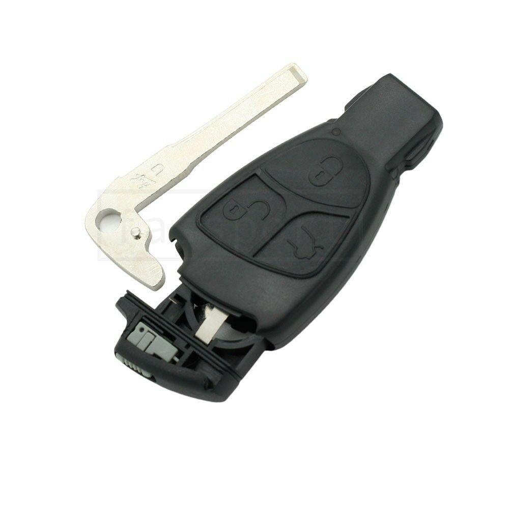 remote key shell key blank fit for benz mercedes. Black Bedroom Furniture Sets. Home Design Ideas