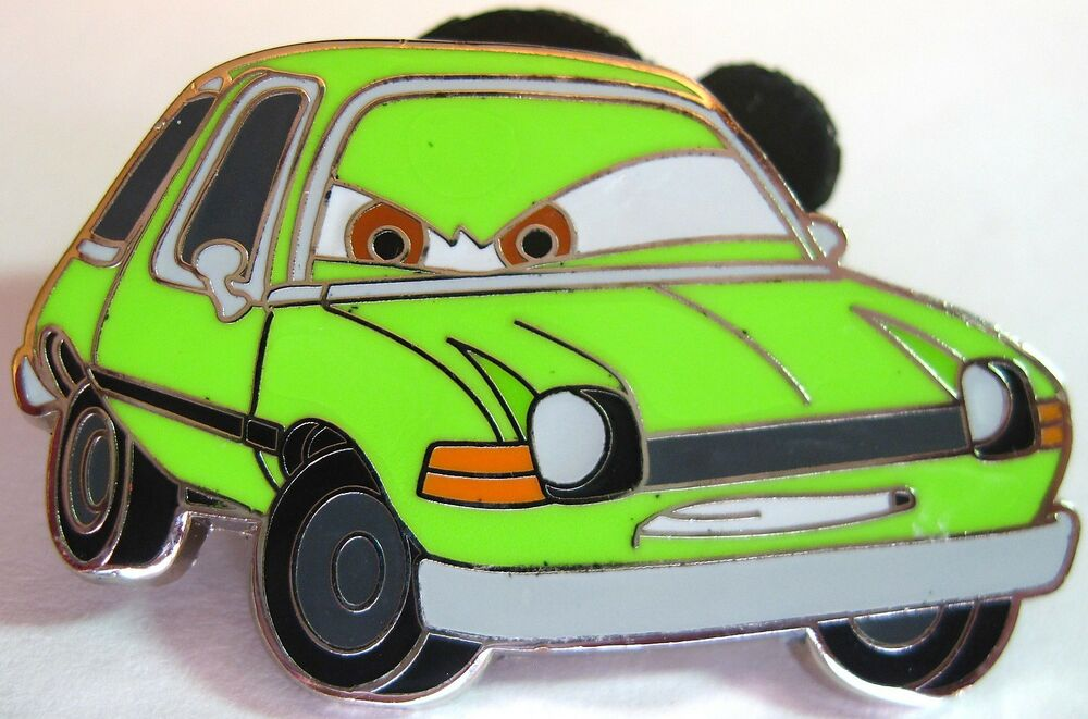 Disney Pin Acer Cars 2 Green Pacer Professor Z Set Free Shipping After 1st Ebay