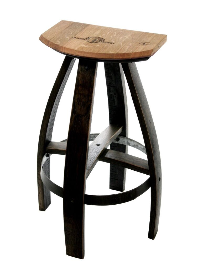 Industrial Style Wood And Metal Kitchen Bar Stools Ebay