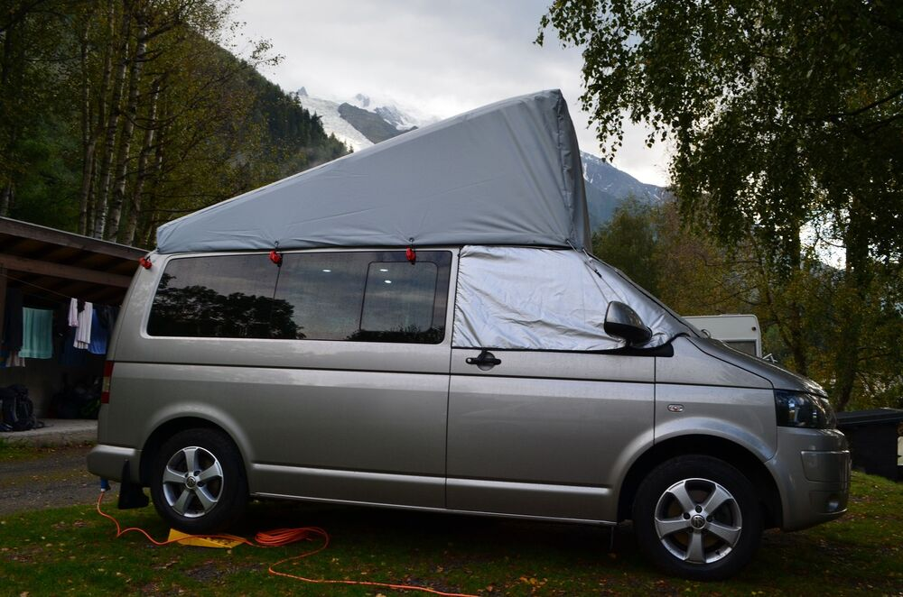 Vw Campervan Accessories >> Reimo-Topper VW T5 SWB UK Pop Top - External Roof Cover ...