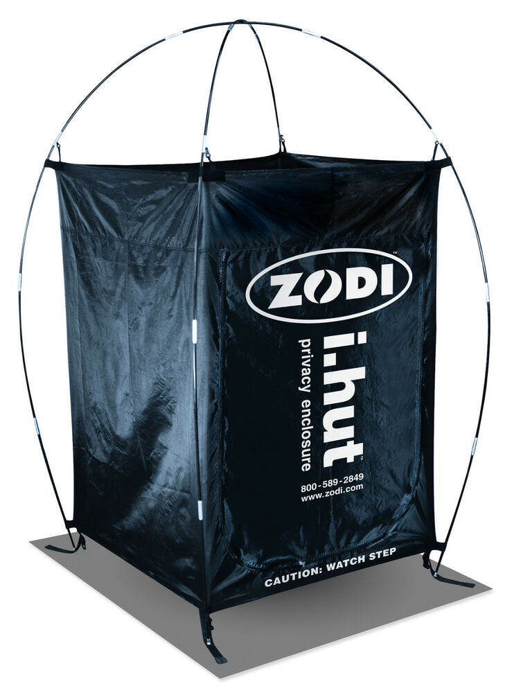 Portable Tent Enclosures : Zodi i hut mpn portable privacy shelter