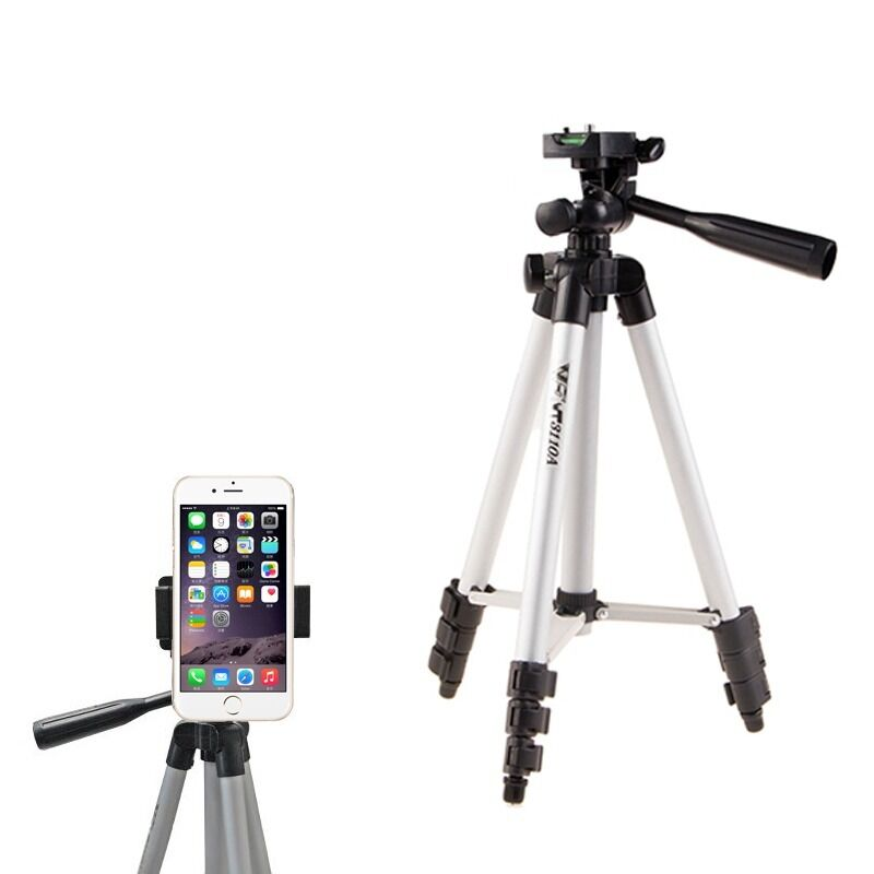 iphone camera stand monopod aluminium tripod stand holder for iphone 6 8863