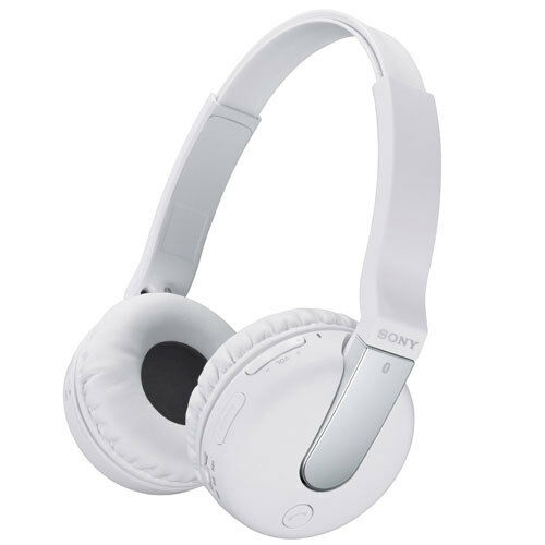 new sony dr btn200m bluetooth wireless over ear headset headphones nfc white 4054318666737 ebay. Black Bedroom Furniture Sets. Home Design Ideas