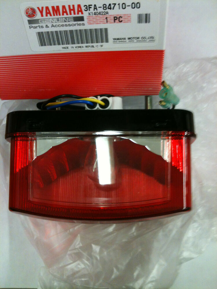 s l1000 genuine yamaha grizzly 660 taillight assembly & wire harness Grizzly 660 Lifted at mifinder.co