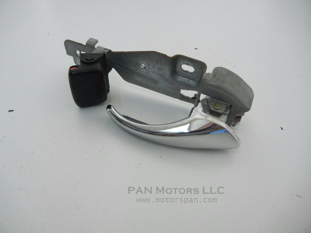 Acura cl inside door chrome handle right passenger side - Acura integra exterior door handle ...