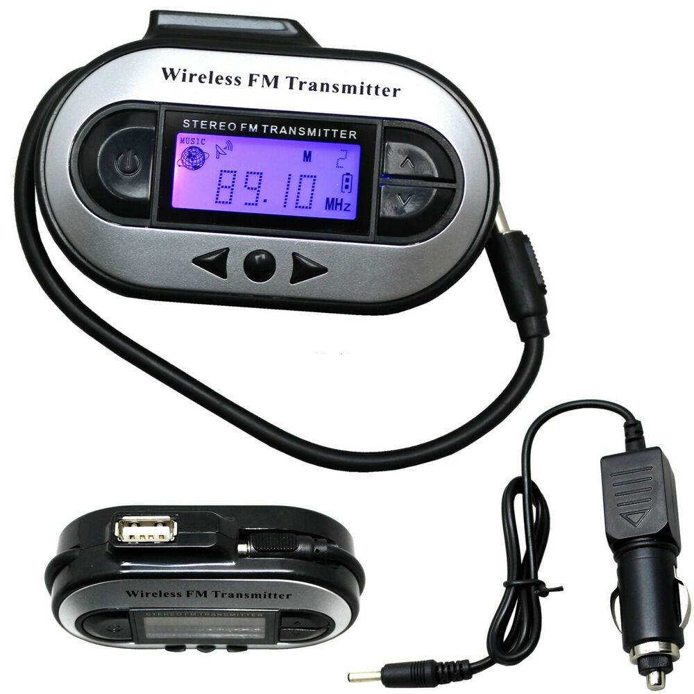wireless lcd 200 channel to car radio fm transmitter for 3. Black Bedroom Furniture Sets. Home Design Ideas