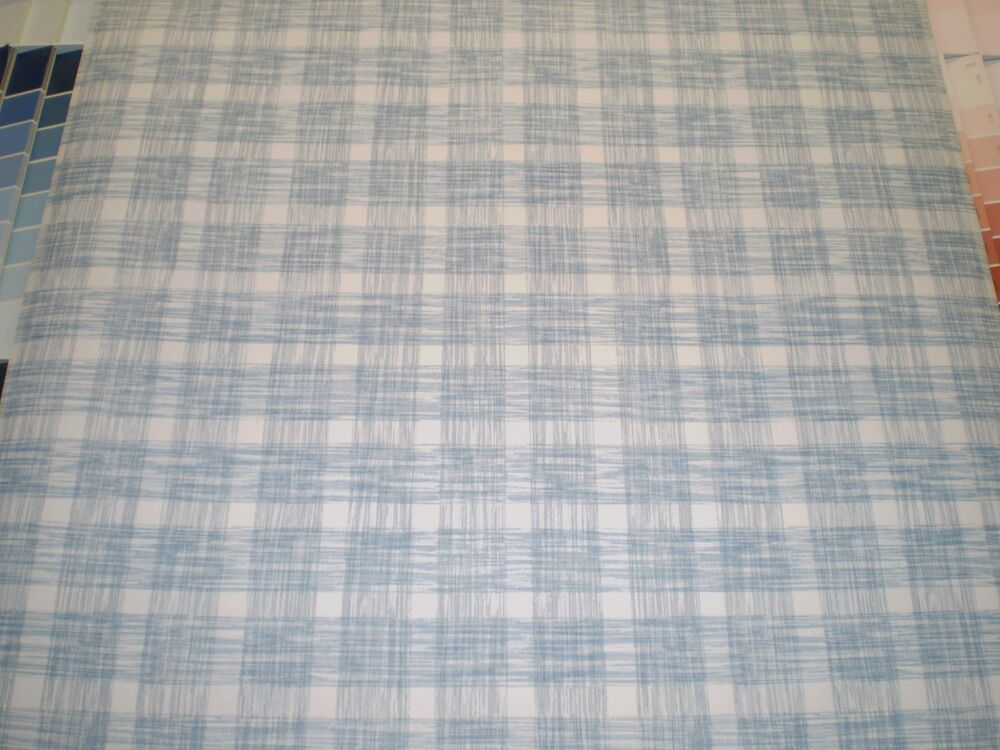 Gray and blue plaid on white wallpaper by sunworthy for Grey tartan wallpaper