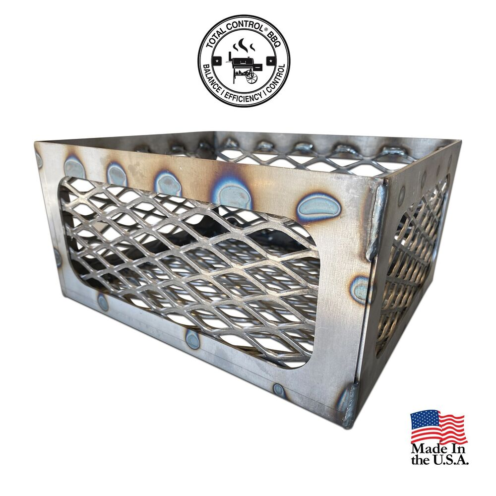 Smoker Fire Box Mod Firebox Expanded Coal Basket For