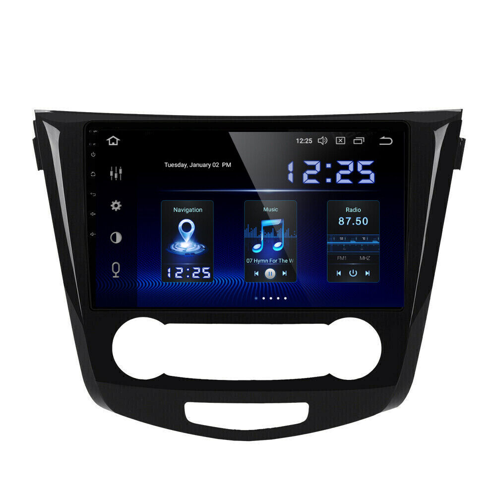 10 2 android 7 1 car dvd radio stereo gps for nissan. Black Bedroom Furniture Sets. Home Design Ideas