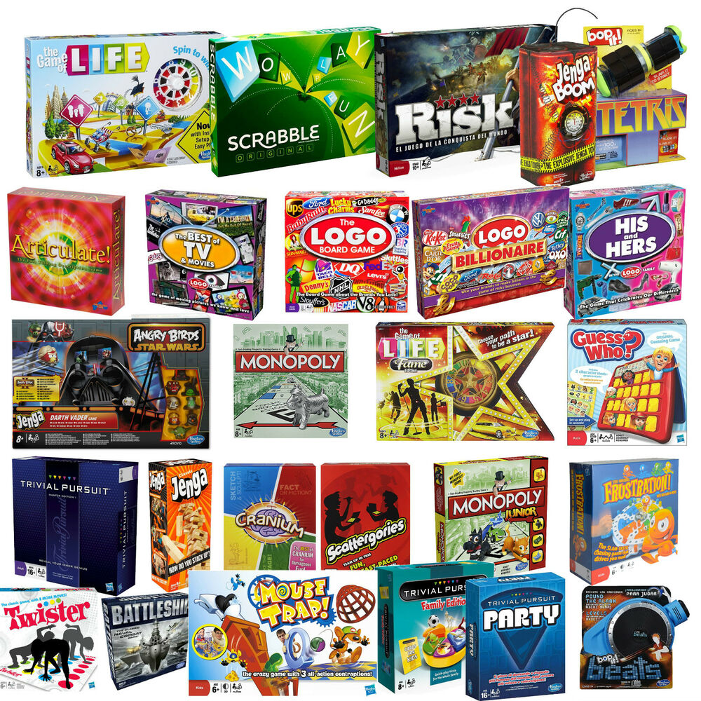 board games family children adults party lots to choose new sealed ebay. Black Bedroom Furniture Sets. Home Design Ideas