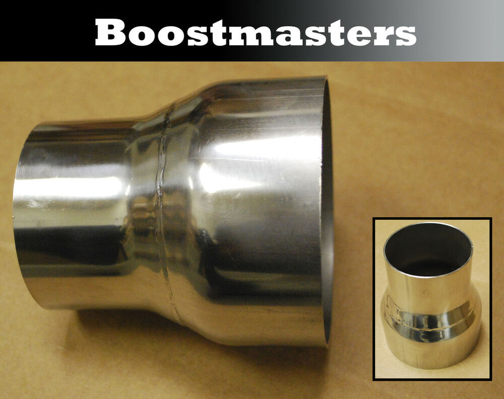 Stainless steel exhaust universal piping reducer ebay