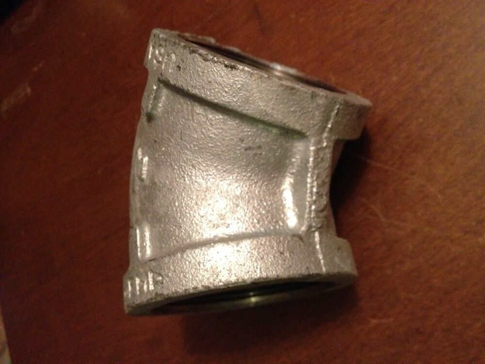 Pc inch female degree galvanized fitting made in usa