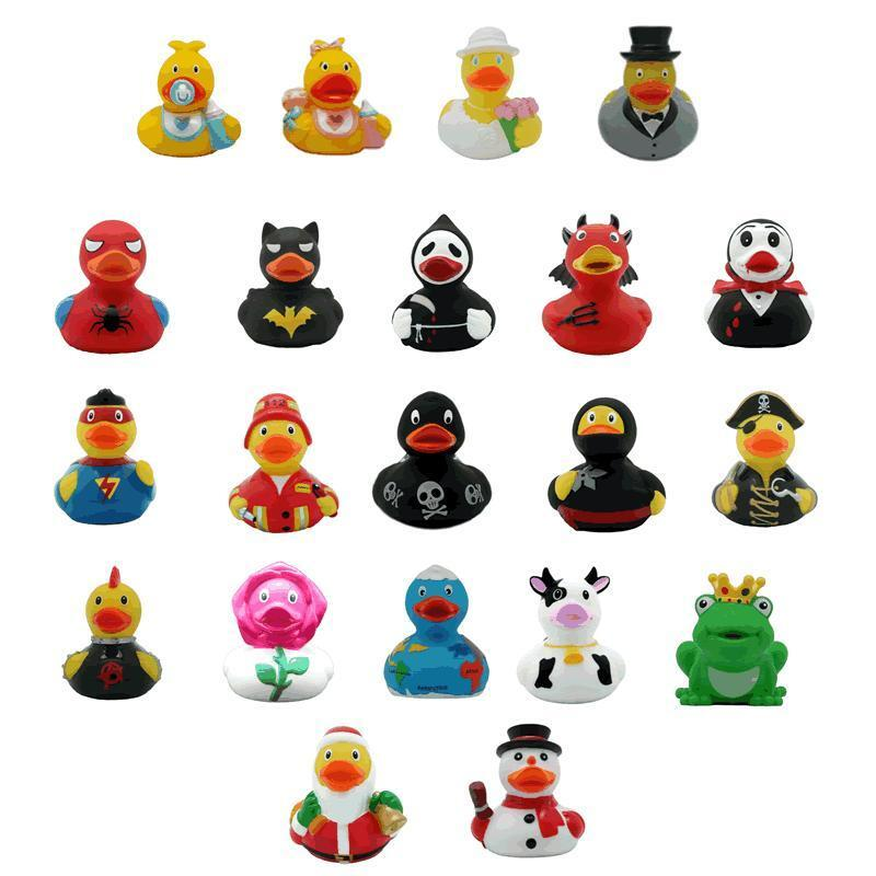 Character Funky Collectable Rubber Duck Super Hero Ducks