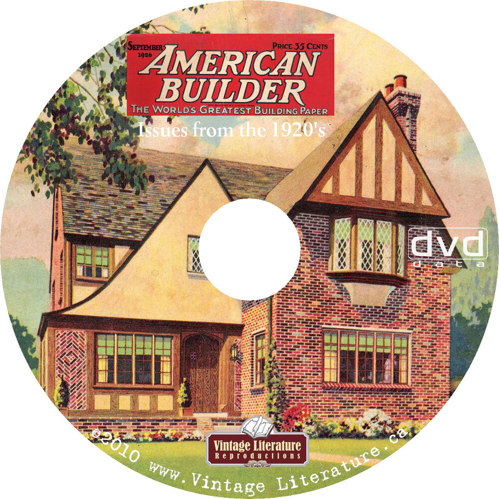 house plans magazine american home builder magazine 1920 s house design plans 12494