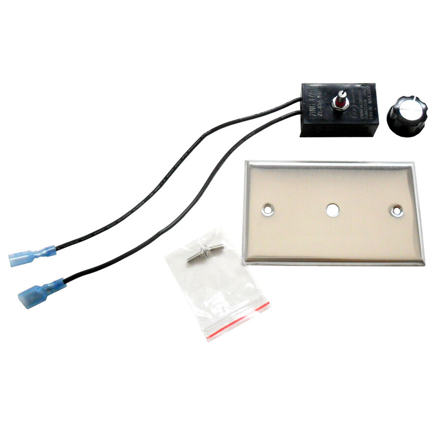 Variable Speed Electric Motor Control For Fireplace Fan