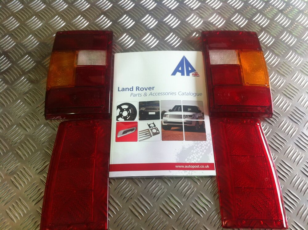 Range Rover Parts >> Range Rover Classic Replacement LH+RH Rear Tail Lights RTC5552 RTC5551 rtc5294+5 | eBay