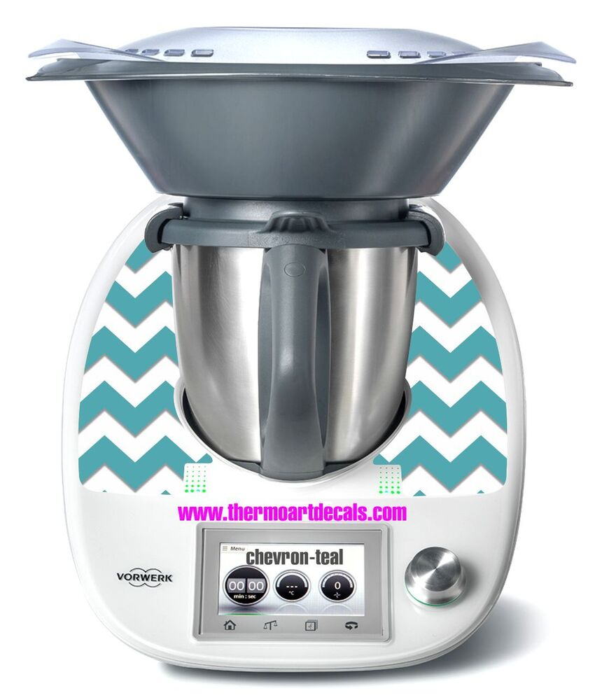 thermomix tm5 sticker decal chevron pattern ebay. Black Bedroom Furniture Sets. Home Design Ideas