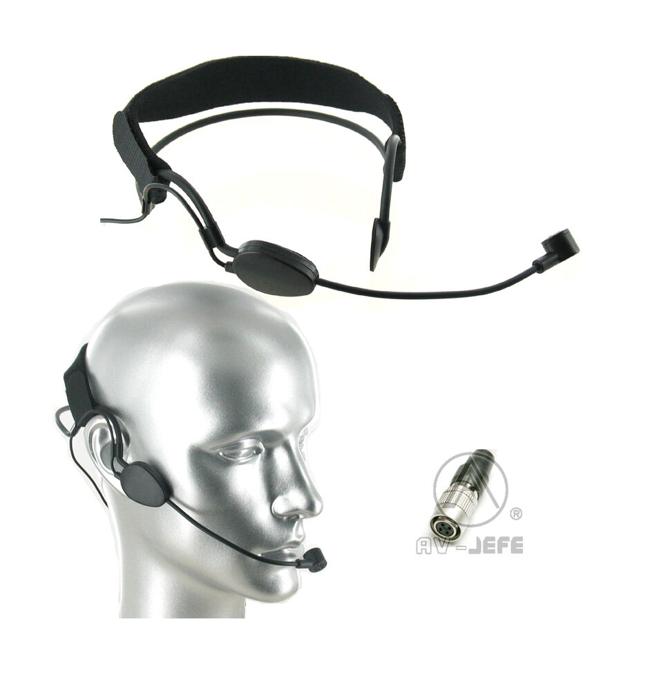noise cancelling headset microphone audio technica hirose wireless compatible ebay. Black Bedroom Furniture Sets. Home Design Ideas