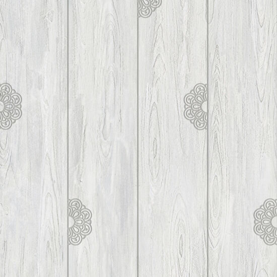 Gray Wood Self Adhesive Wallpaper Prepasted Home Decor
