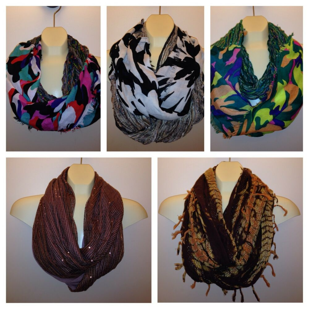 collection 18 infinity loop scarf many scarves to choose