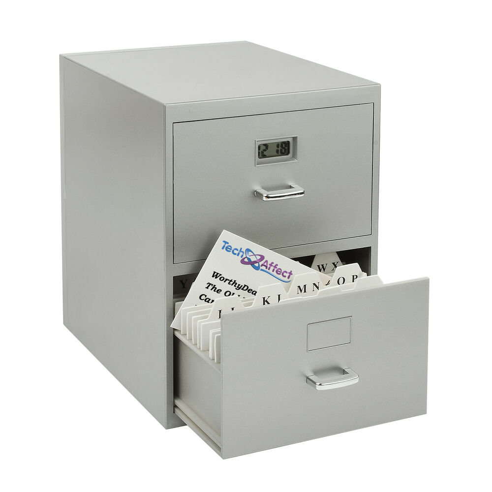 Mini Filing Cabinet Business Address Card Holder file ...