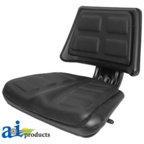 Universal Vintage Tractor Seat Replacement : Universal black trapezoid back seat t bl ebay