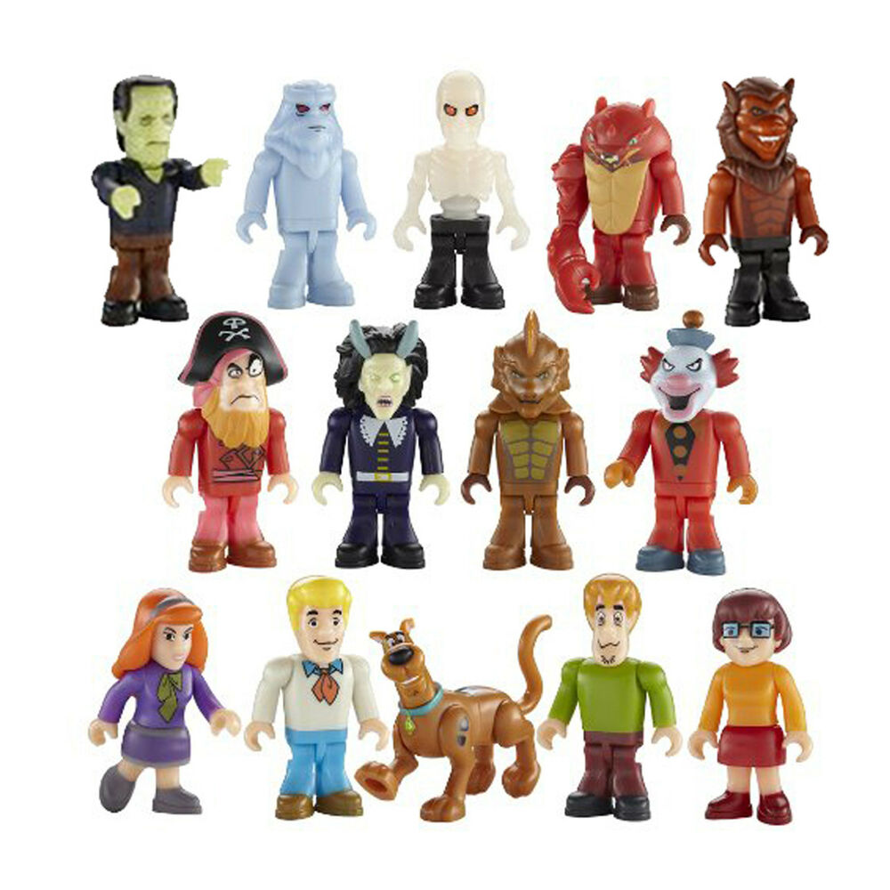 Scooby Doo Toys : Scooby doo character building micro figure series
