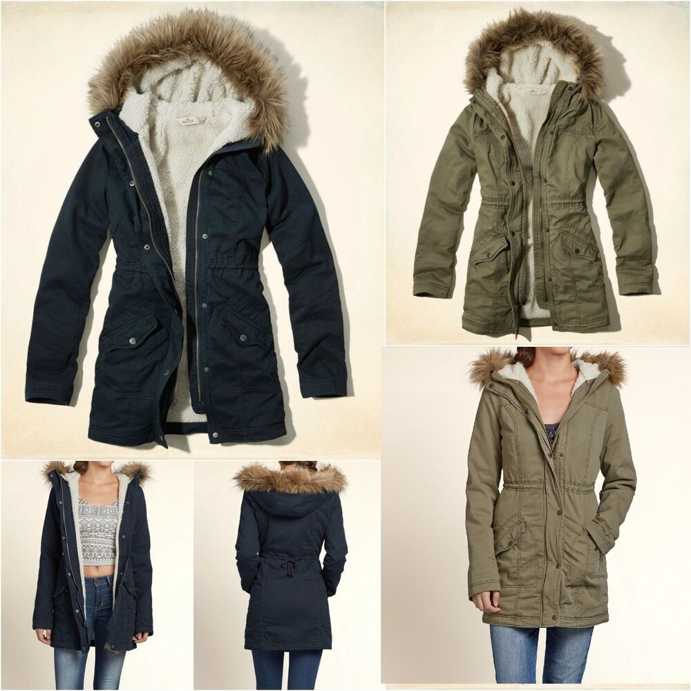 Hollister Winterjacke Damen Sale