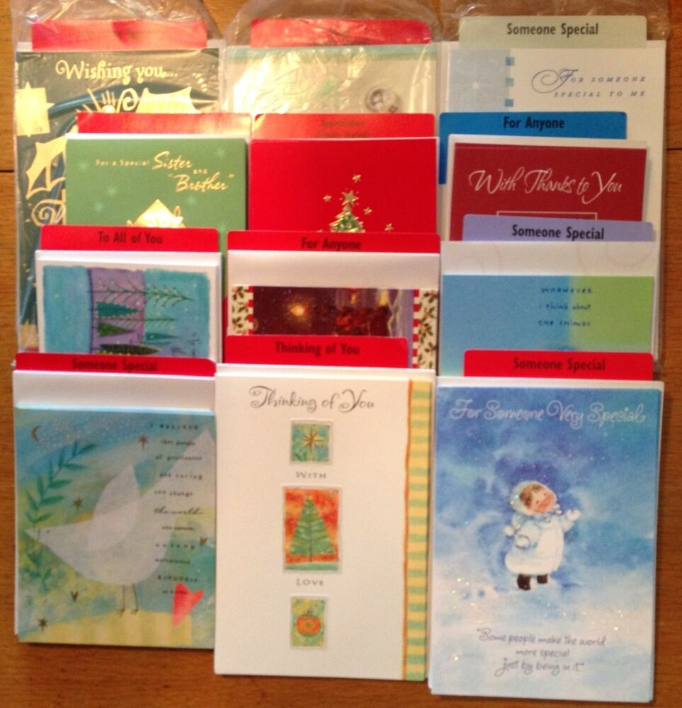 74 Hallmark Christmas Greeting Card Singles From Store