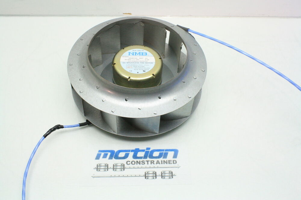Dc Brushless Fan Motor : Minebea r d brushless blower fan motor v
