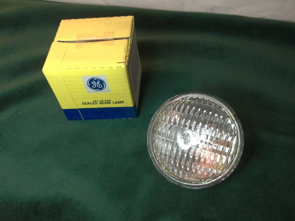 New Ge General Electric Light Bulb Sealed Beam Emergency Spot H7557 12 Volt Ebay