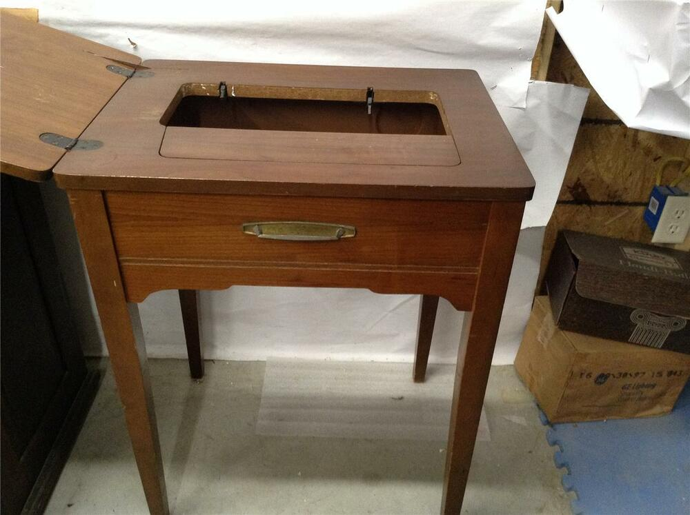 singer sewing machine with cabinet singer sewing machine cabinet smc 97 ebay 26150