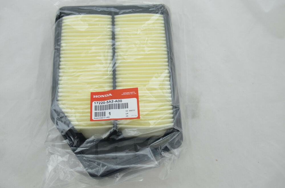 Accord Air Cleaner Assembly : New oem honda accord air filter cleaner
