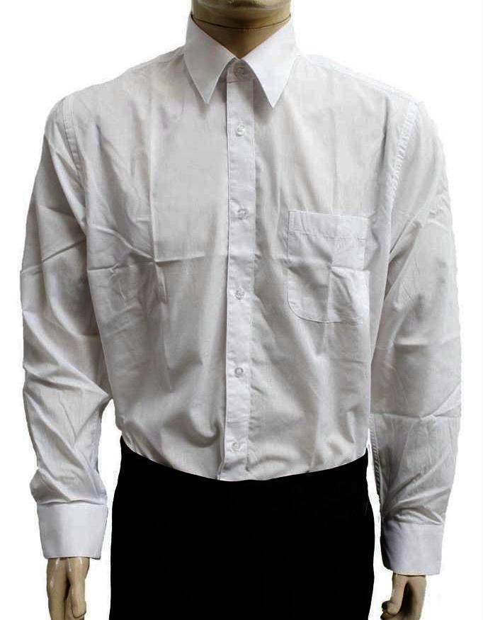 New desire collection men classic long sleeve button up for Classic white dress shirt