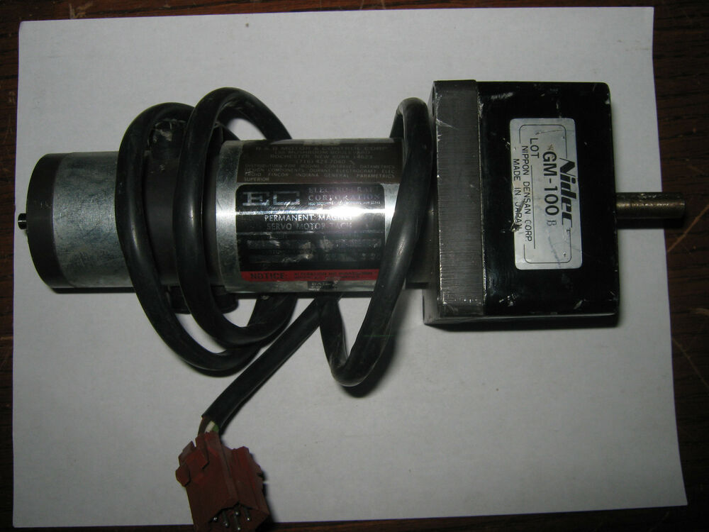 Electro craft corp 0586 00 022 permanent magnet servo for Electro craft corporation dc motors