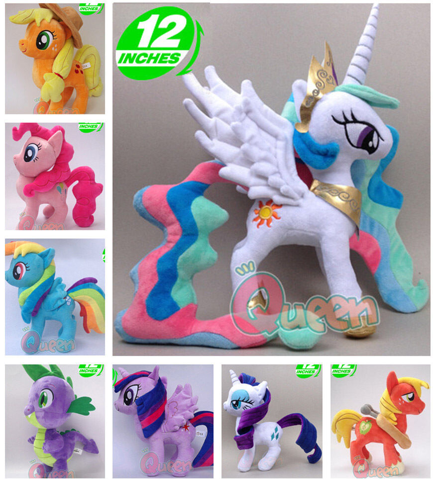 Best My Little Pony Toys And Dolls For Kids : My little pony g cm soft plush doll toy fluttershy